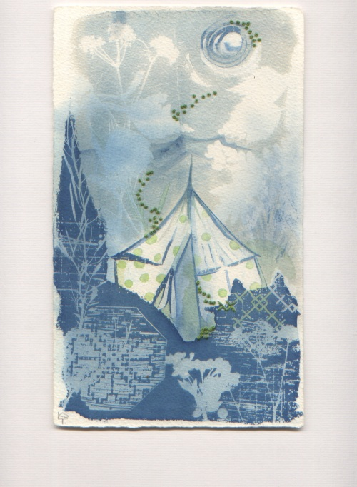 Magic Tent  Blencathra Kim Tillyer