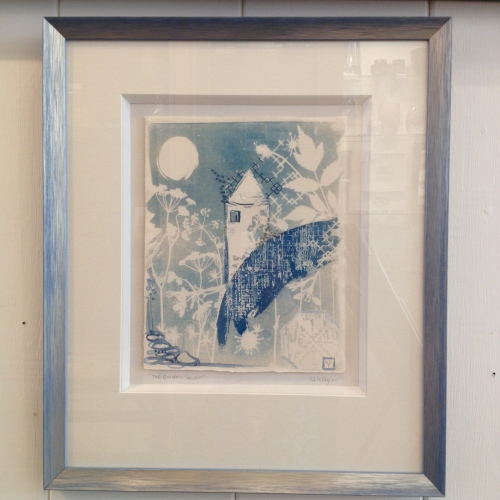 The Garden Tower,cyanotype  Kim Tillyer