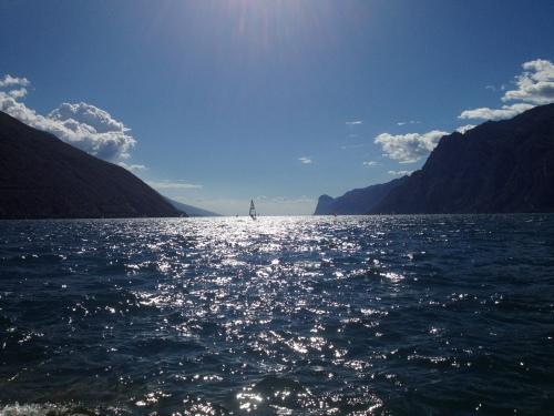 Lake Garda from Torbole