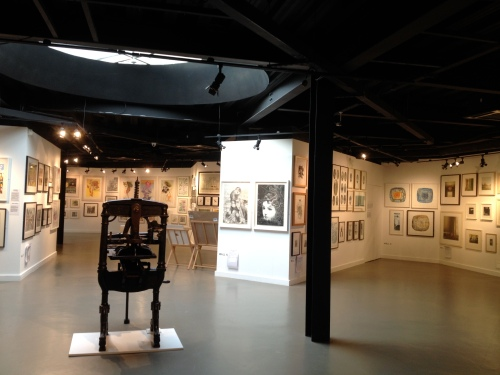 The Great Print Exhibition Rheged, Cumbria