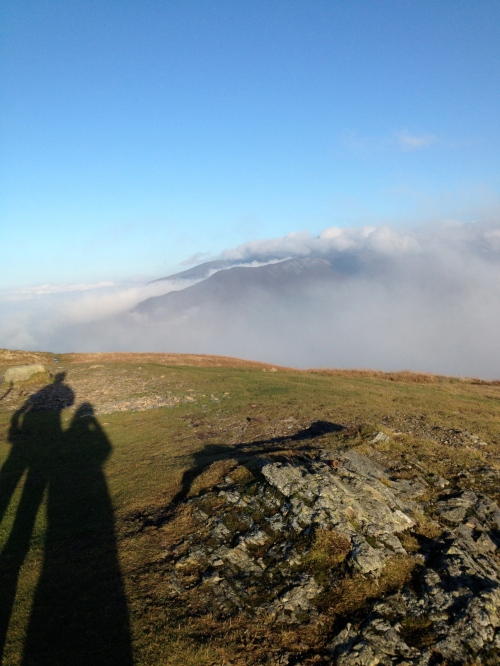 Skiddaw in the mist