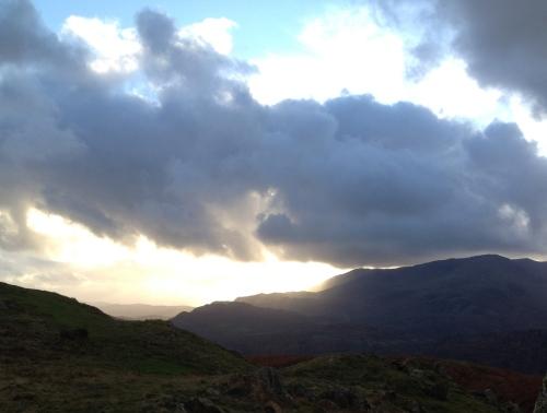 stormy Cumbrian sky
