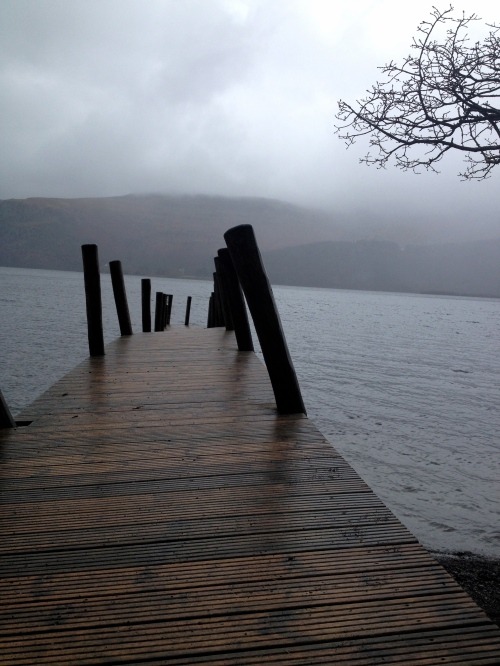 Derwent water after the floods