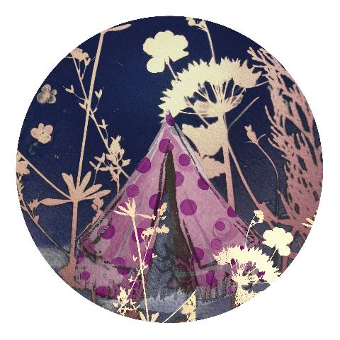 Magic tent by Kim Tilyer