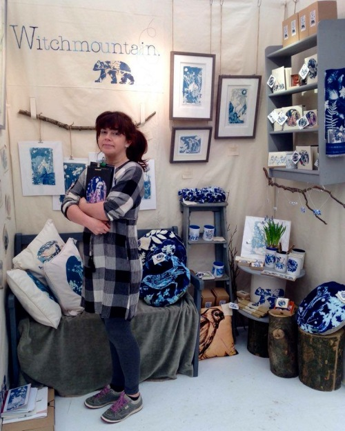 Kim Tillyer stand N27 British Trade Craft Fair 2016